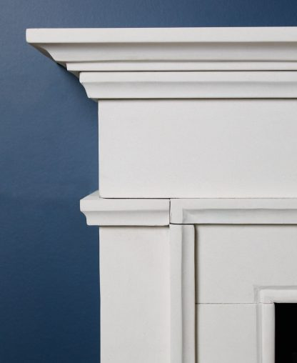 Westminster Fireplace Surround In Limestone Close Up
