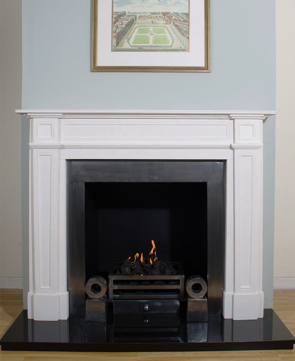 Bloomsbury fireplace surround abbey fireplaces for Ramsey fireplace