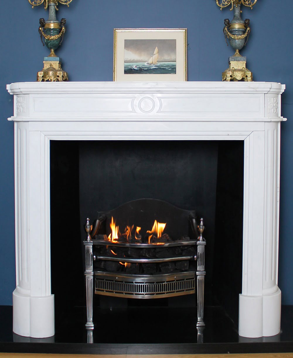 Marseille Fireplace Surround Large Close 3 Abbey Fireplaces
